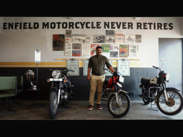 Royal Enfield Vintage Store: Royal Enfield forays into pre
