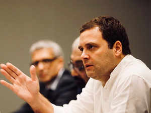 Rahul Gandhi in Singapore: Congress president slams NDA over Kashmir situation