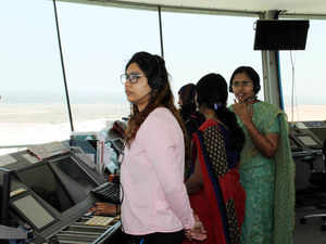 All Woman Team at ATC of BLR Airport