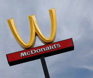McDonald's just flipped its golden arches to a 'W' for Women's Day