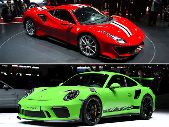 From Ferrari 488 Pista to Porsche 911 GT3 RS, sportscars take the limelight at Geneva Motor Show