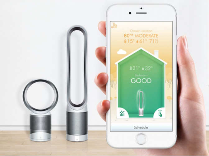 dyson pure cool link review the tower air purifier can be. Black Bedroom Furniture Sets. Home Design Ideas