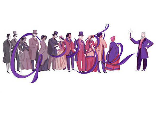 Google Doodle Celebrates William Henry Perkins, Who Made the World More Purple
