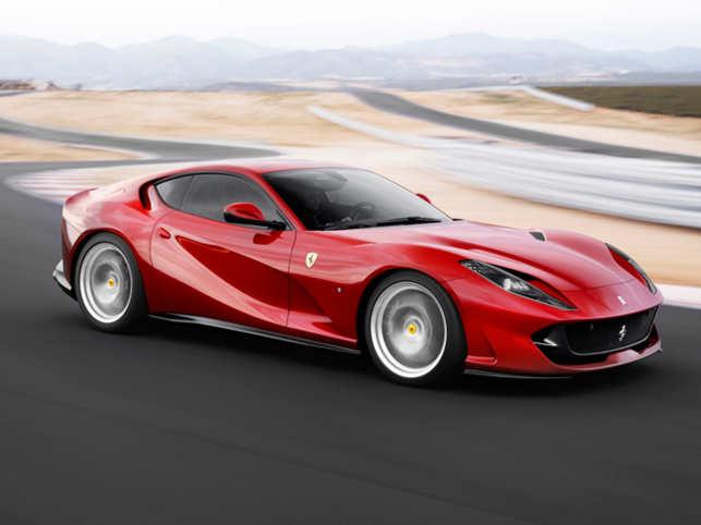 Ferrari 812 Superfast Ferrari Unveils Its Fastest Production Car