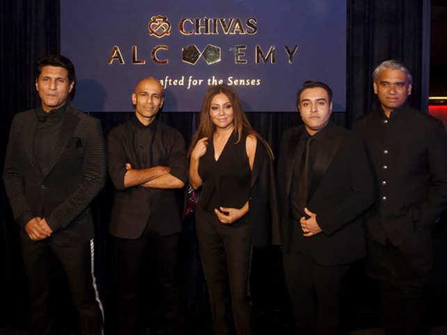 From left: Rajiv Makhni, Ambrish Arora, Gauri Khan, Zorawar Kalra, Rajesh Pratap Singh
