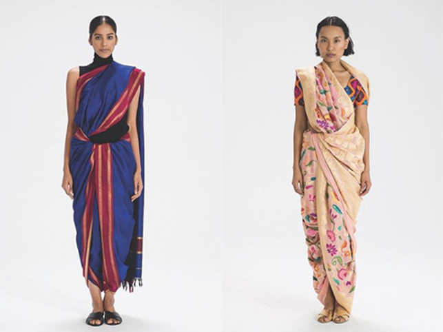 There are 89 ways to wear a sari, and this Instagram account can teach you how in just 2 minutes