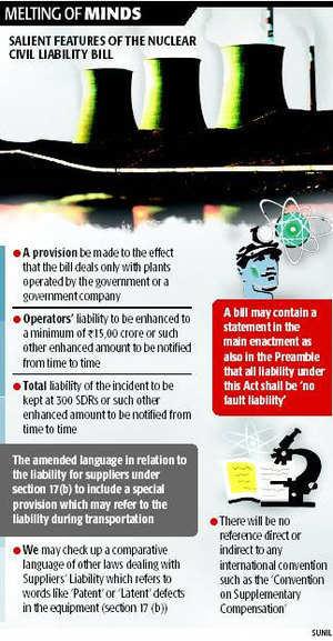 BJP backs N-bill ; private cos nuked