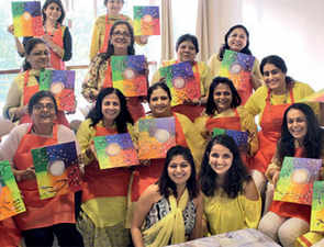 In Bengaluru, private house parties are turning creative with art sessions