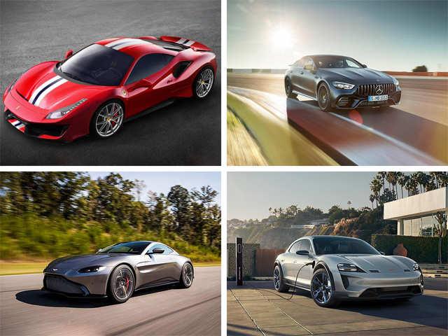 Porsche Ferrari And Mercedes Benz The Futuristic And Fancy Cars At