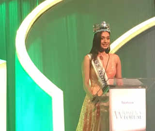ET Women's Forum: Miss World 2017, Manushi Chhillar, says women must take risks, and make their own decisions