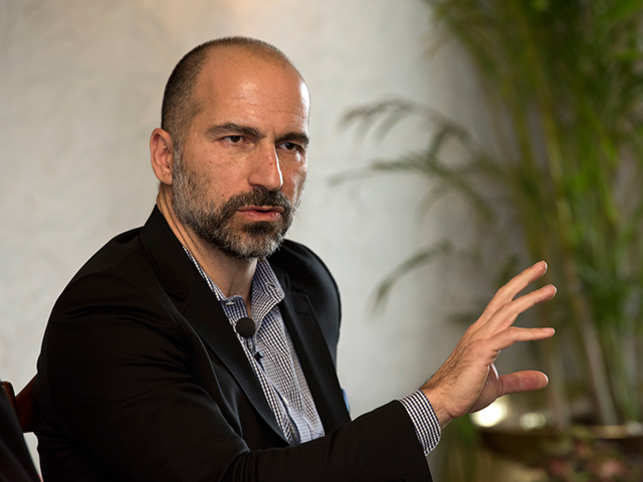 In the age of Internet, Uber CEO Dara Khosrowshahi still votes for cable TVOR Old-school cool! Uber CEO Dara Khosrowshahi still votes for cable TV