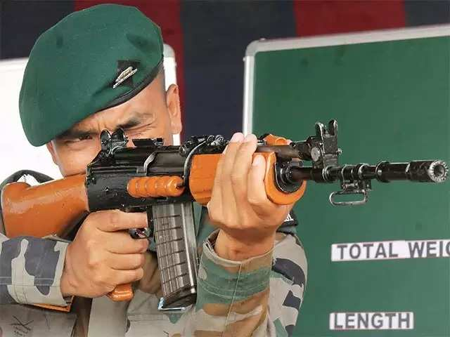 OFB looks at replacing ageing INSAS rifles; to get 1.86 lakh 7.62-mm automatic rifles