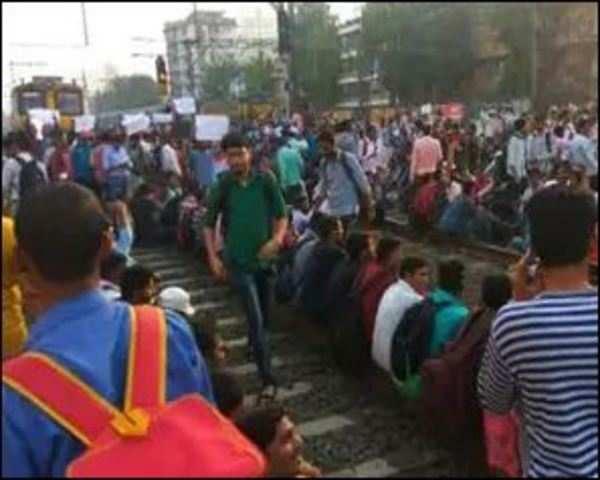 Mumbai: Local train services disrupted