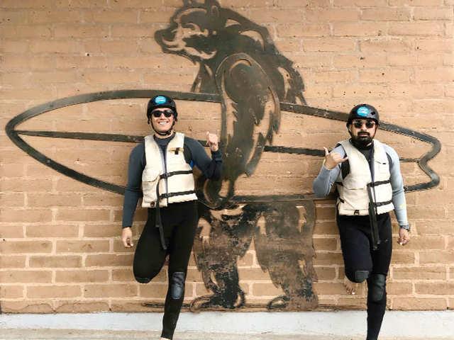 Rannvijay Singha and brother Harman's adrenaline-packed California holiday