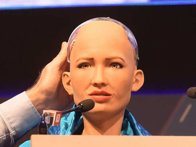 Sophia, world's first humanoid citizen, focuses on saving the planet, plans to conquer Mt Everest