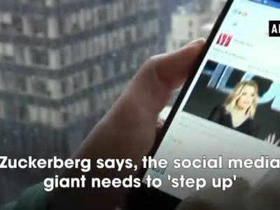 Cambridge Analytica scandal: Zuckerberg admits making mistakes