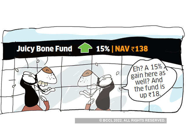 Why you should not invest in a mutual fund based on its NAV - Dog's