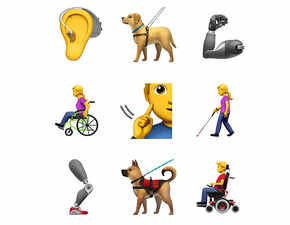 Apple proposes 13 new emojis to better represent differently-abled people