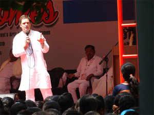 BJP 'attacking' the Constitution: Rahul Gandhi