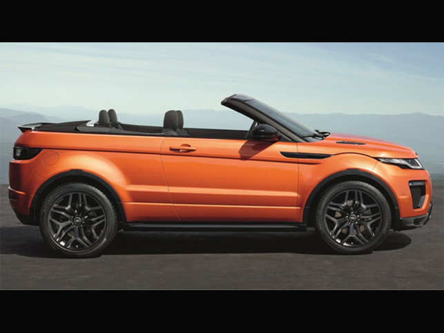 Jaguar Land Rover India unveils Range Rover Evoque Convertible at Rs 69.53 lakh