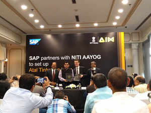 AIM currently has partnerships with Intel and IBM and SAP becomes the third partner for the programme.