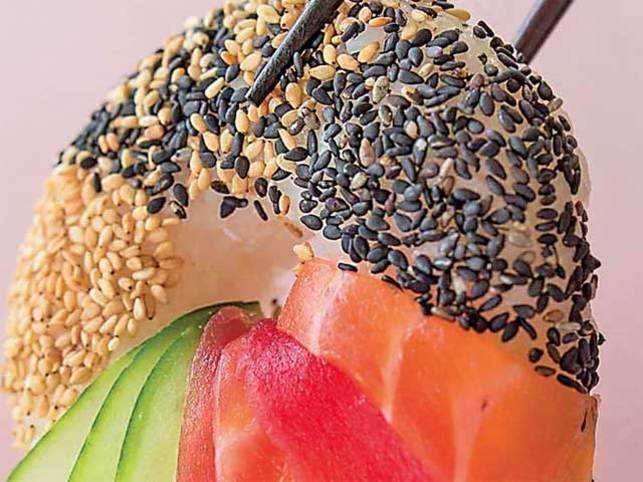 sushi: Japanese sushi gets a twist as sushi doughnuts