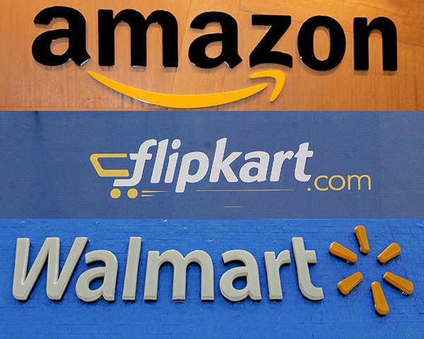 f762f4e79 Amazon and Walmart in race to buy stake in Flipkart