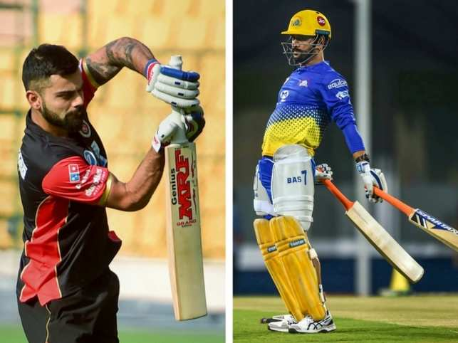 The days of thick, heavy bats are passe. Check out what these big hitters of the IPL wield instead to send the ball soaring: