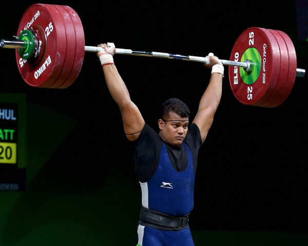 CWG 2018: RV Rahul wins 4th Gold medal for India in weightlifting