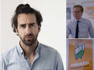 Watch: Jamie Bartlett on his meeting with 'unapologetic' Alexander Nix and the Congress poster