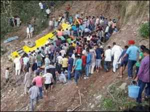 Shimla: 30 people die as school bus falls into deep gorge,  CM orders magisterial probe