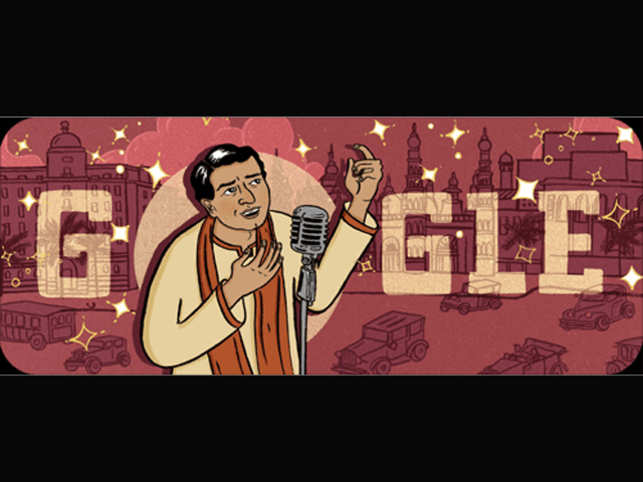 Google celebrates India's 1st superstar KL Saigal with doodle