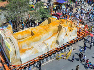 Hanuman statue row: FIR against 18 including K'taka BJP leader Padmanabha  Reddy