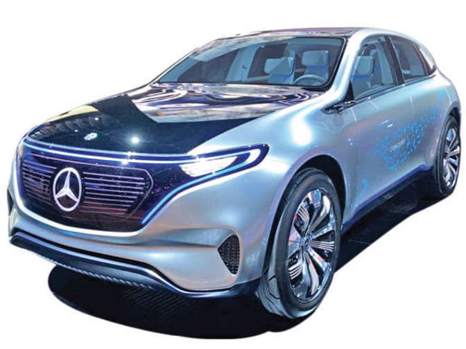 Electric sedan mercedes benz to challenge tesla with new for New electric mercedes benz