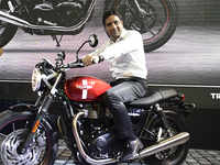 CEO weekend rides! Vimal Sumbly says biking is the new way to network