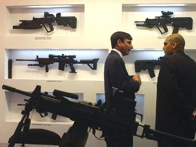 Foreign assault and sniper rifles to have 'Made in India' tag soon
