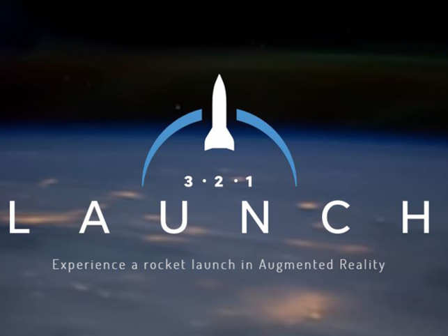 3 2 1 Launch: An AR app for science buffs