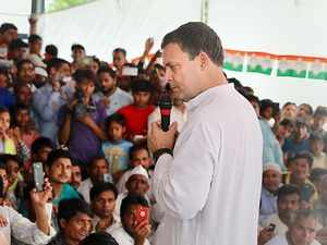 'Ask Modi, Yogi': Rahul Gandhi when asked about problems in Amethi