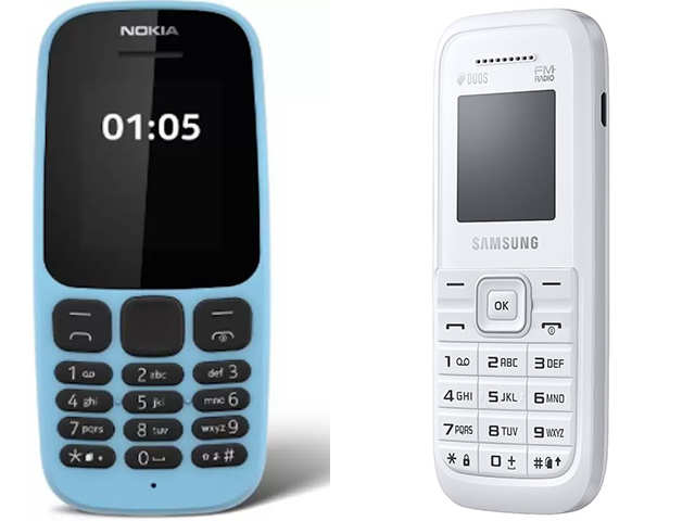 Want to ditch the smartphone? Try feature phones like Samsung Guru, Nokia 105