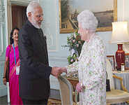 Best images of PM Modi's Sweden and UK tour