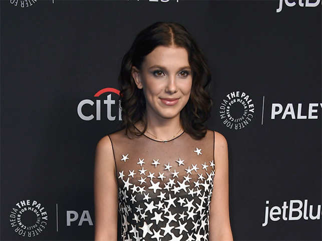 Time 100 All Of 14 Stranger Things Star Millie Bobby Brown Is