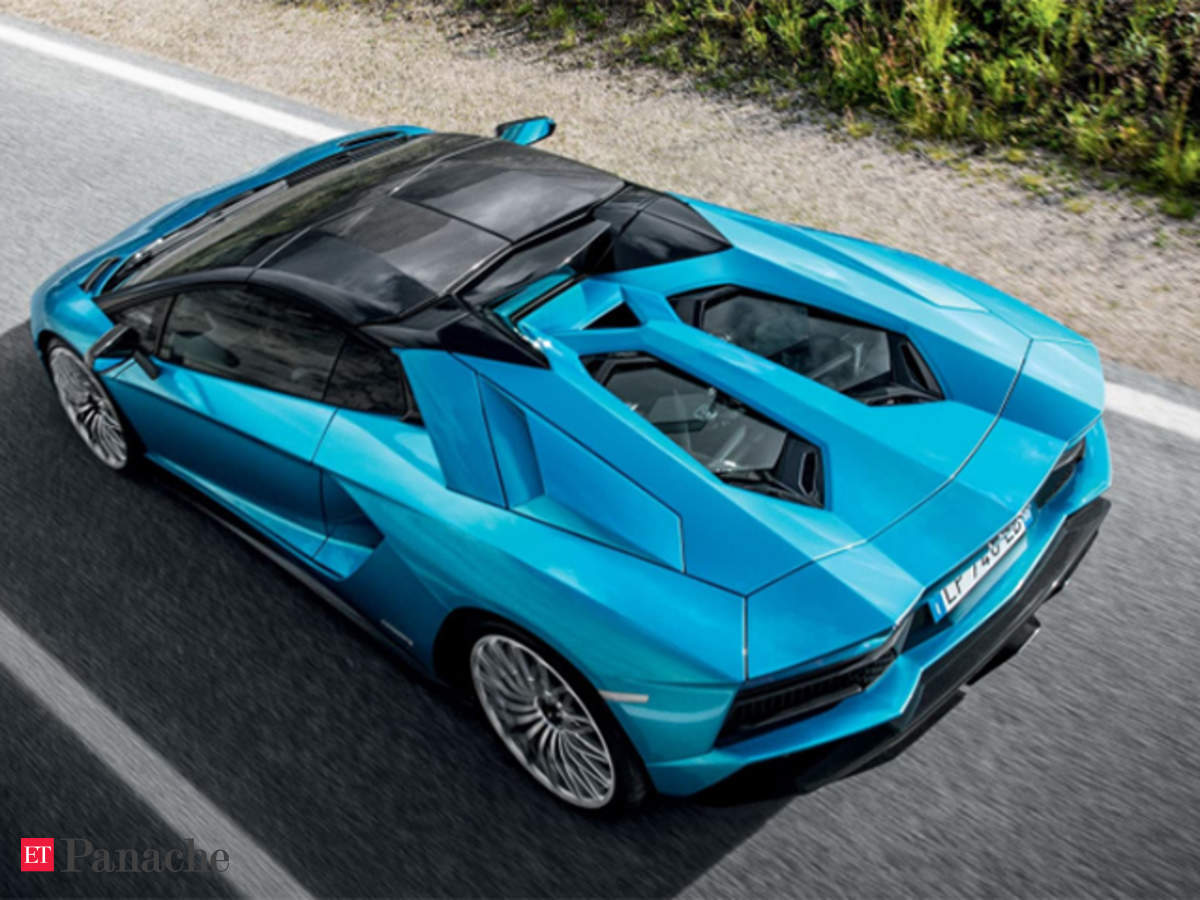 At 460 247 Lamborghini S 2018 Aventador S Roadster Is Messy Angry Passionate Disinclined To Obey The Economic Times