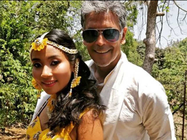 Milind Soman-Ankita Konwar to get married in Alibaug today