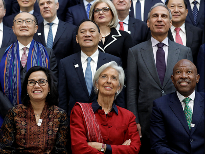 Central banks fret trade war more deflationary than inflationary