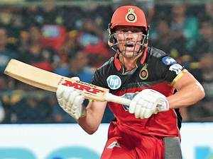 Chris Gayle's and AB de Villiers' different ways of scoring in T20