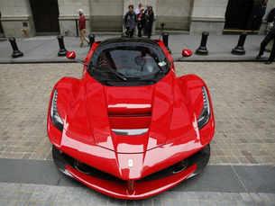 Ferrari quietly tests electric car