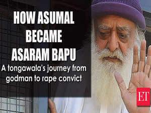 Asaram Bapu: A tongawala's journey from godman to rape convict