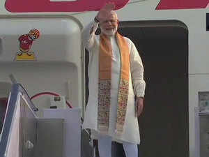 PM Modi leaves for China to attend a two day informal summit with Xi Jinping