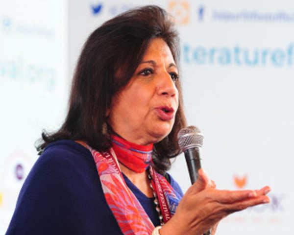 Watch: Kiran Mazumdar-Shaw of Biocon Ltd talk on co's earnings