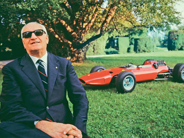 Enzo Ferrari A Look At Ferrari The Man And The Empire He